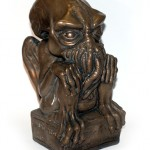 Bronze Cthulhu statue