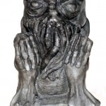 Cthulhu statue in stone