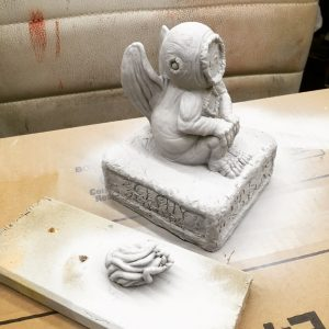 Cthulhu baked and primed