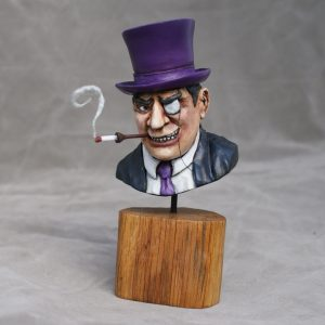 The Penguin from Batman bust