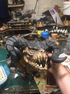 Fallout Deathclaw bust