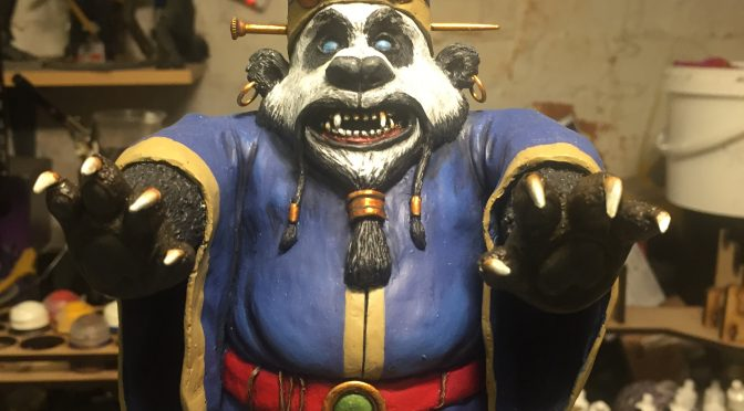 Big Trouble in Little China + Warcraft = David Lo Panda