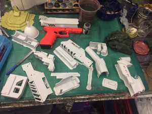 Lawgiver parts printed