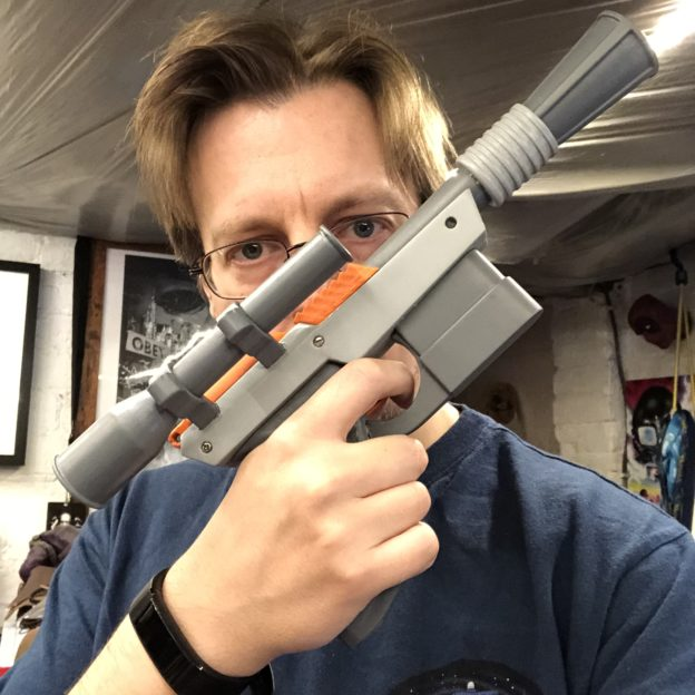 Star Wars DL-44 Nintendo Zapper mashup