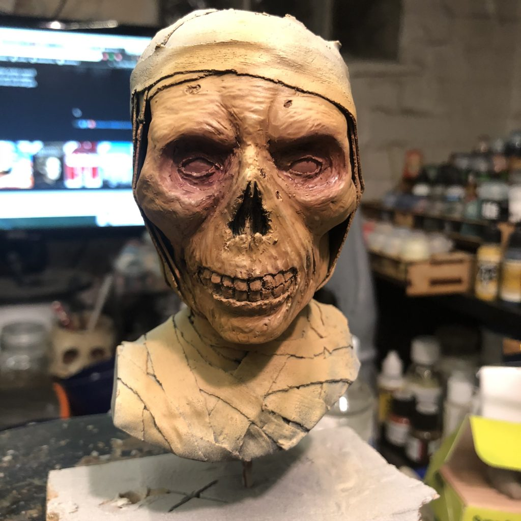 mummy sculpture